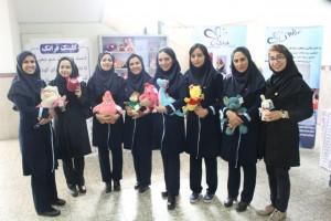 Our Faranak Clinic team with deaf tedy bears